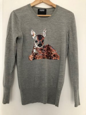 Markus Lupfer Jersey de lana gris