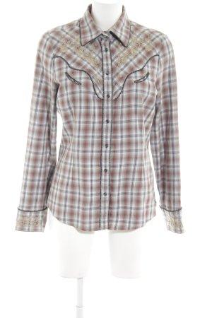 Marlboro Houthakkershemd geruite print casual uitstraling