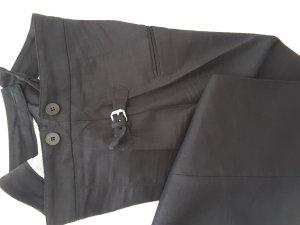 René Lezard Suit Trouser dark blue mixture fibre