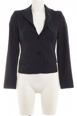 Marlene Birger Short Blazer dark blue business style