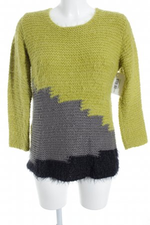 Marlene Birger Strickpullover Colourblocking Casual-Look