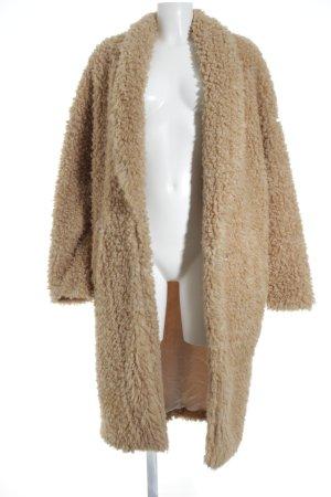 Marlene Birger Wool Coat nude-camel fluffy