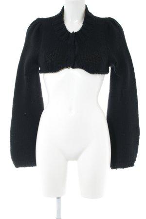 Marlene Birger Jersey de lana negro look casual