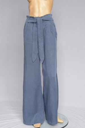 Nümph Marlene Trousers steel blue lyocell