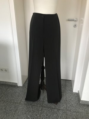 Cambio Marlene Trousers dark brown-black brown polyester