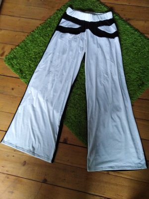 Pantalone Marlene nero-bianco sporco
