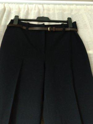Marc Cain High Waist Trousers dark blue