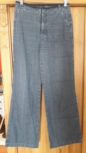 von Dutch Marlene jeans staalblauw Katoen