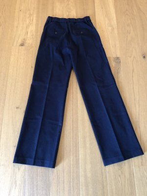Uniqlo Marlene Trousers dark blue