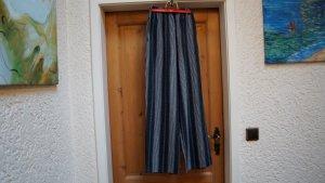 Pantalone Marlene grigio-argento Tessuto misto