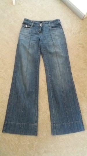 Marlenehose, Jeans, Schlaghose, 34/36