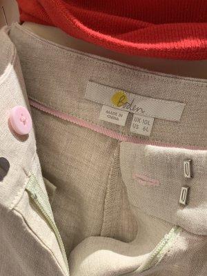 Boden Pantalone di lino beige chiaro