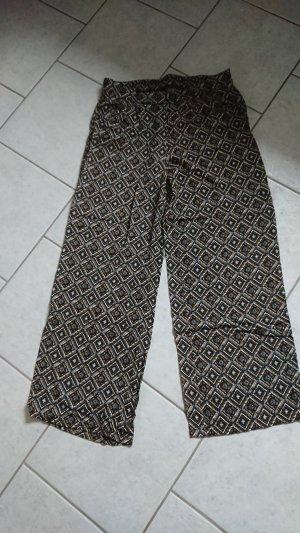 Yessica Pantalon palazzo multicolore viscose