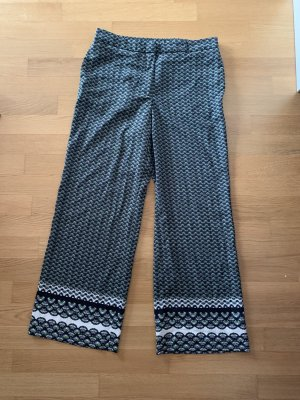 Marlenehose Palazzohose mit Tuchmuster H&M