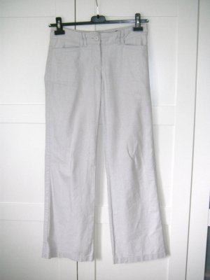 H&M Marlene Trousers grey-white