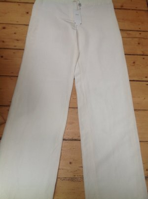 Armani Collezioni Marlene Trousers natural white mixture fibre