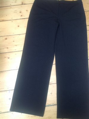 Armani Collezioni Marlene Trousers black-light grey mixture fibre