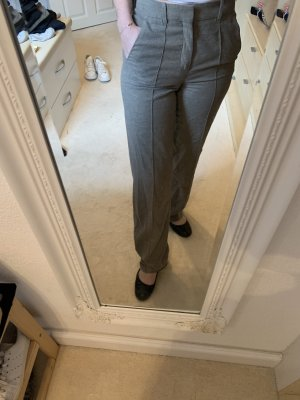 Zara Marlene Trousers light grey