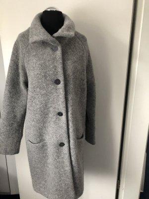 Marlies Mithöfer Cappotto corto grigio chiaro-grigio