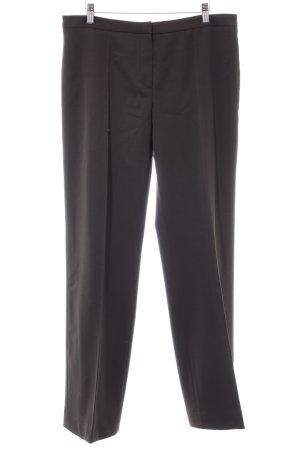 Marly's Pantalon à pinces brun foncé style d'affaires