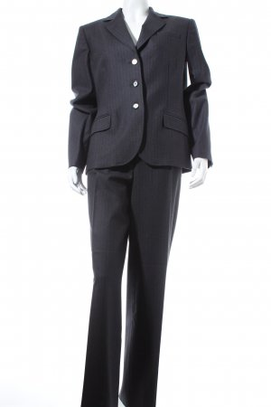 Marly's Pinstripe Suit anthracite business style