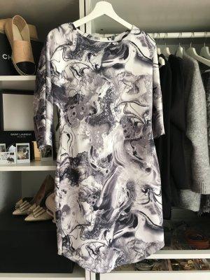 Marmor Kleid Schwarz Weiß • Bloggerstyle