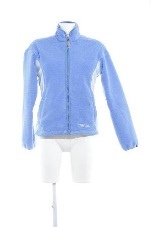 Marmot Fleecejacke kornblumenblau-babyblau Casual-Look