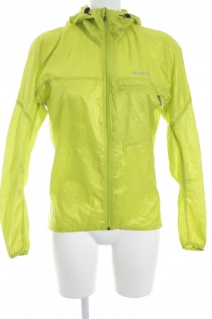 Marmot Windbreaker lime yellow athletic style