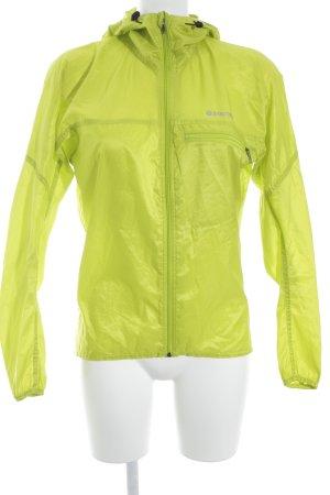 Marmot Coupe-vent jaune citron vert style athlétique