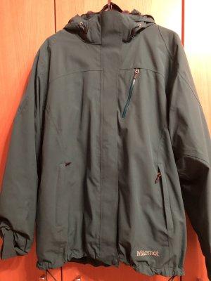 Marmot Winterjacke - 2-teilig -Gr. XL (44) - grün - grau