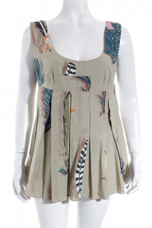 Marni ärmellose Bluse florales Muster Street-Fashion-Look