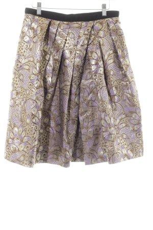 Marni at H&M Plaid Skirt flower pattern extravagant style