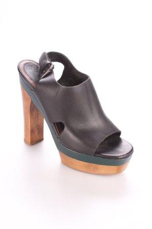 Marni at H&M Plateau-Sandaletten mehrfarbig extravaganter Stil