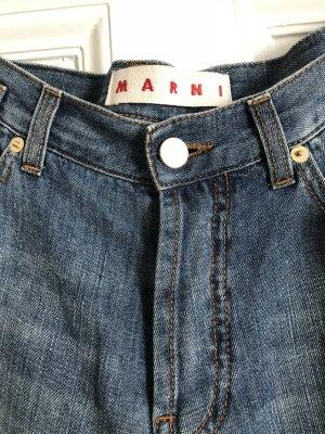 Marni Baggy Jeans pale blue cotton