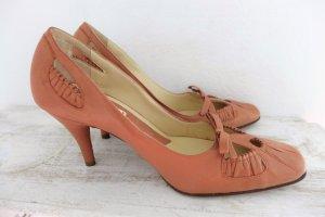 Marni Designer Schuhe Pumps Highheels nude rose dunkelrose 38 neu