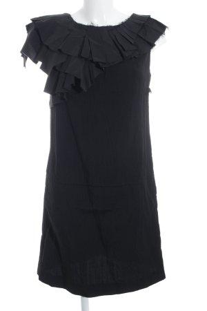 Marni Manteljurk zwart glinsterend