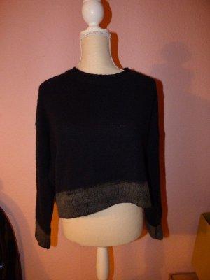 Marni Oversized trui zwart-antraciet Kasjmier