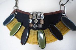 MARNI Kette, aus Kristallen, Stoff & Kunststoffelementen, typisch Marni, wertet jedes Outfit auf !!