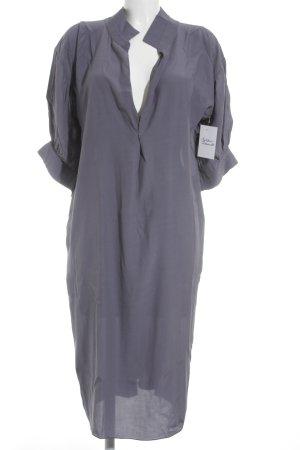 Marni Langarmkleid blauviolett Business-Look