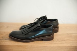 "MARNI Loafer Gr. 40 ""Fringed lace-up"""