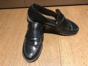 Marni Babouche noir cuir