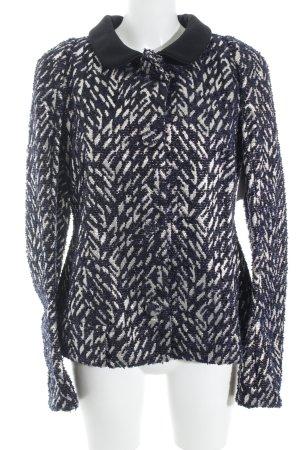 Marni Lange blazer abstract patroon extravagante stijl