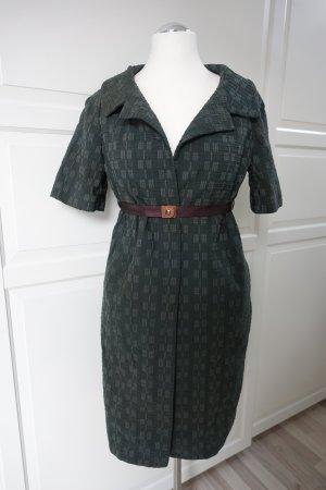 MARNI Mantel, mit kurzen Ärmeln, dunkelgrün, mit 2x MARNI Gürtel !! ital. 46 oder EUR 42