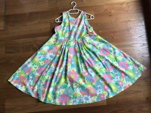 Marni Babydoll-jurk veelkleurig Katoen