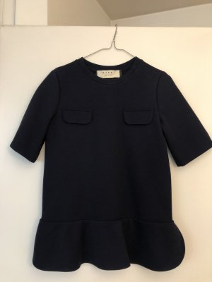 Marni Short Sleeve Sweater dark blue