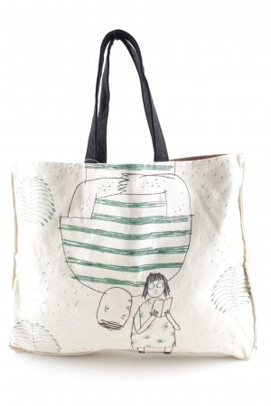 Marni Canvas Bag themed print simple style