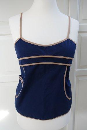 MARNI Top, dunkelblau, Baumwolle, mit kleiner Tasche !! ital. 44 oder EUR 40