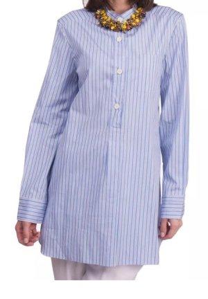 Marni Blusa de túnica azul aciano-blanco
