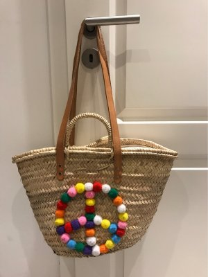 Manouc Basket Bag camel