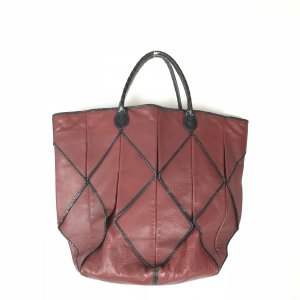 Maroon  Bottega Veneta Shoulder Bag